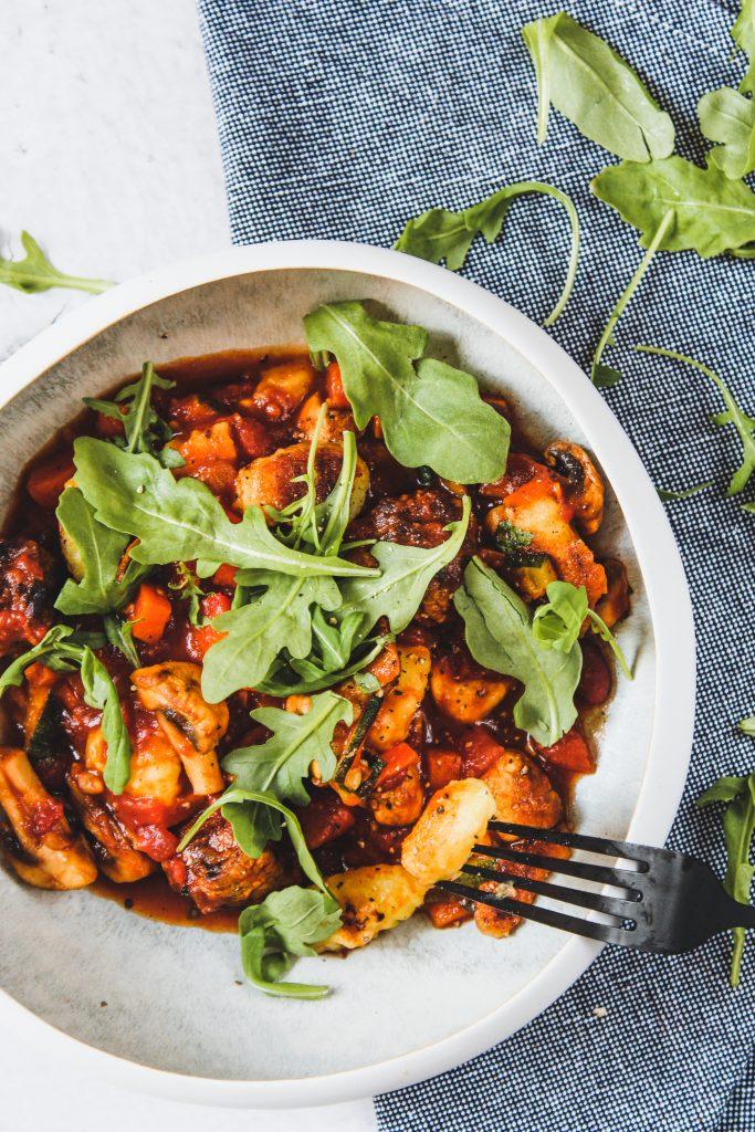 Gnocchi bolognese met walnoten - Healthy Habits