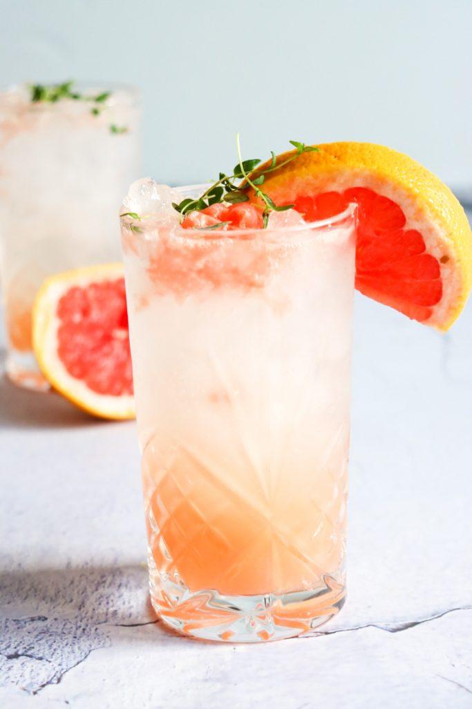 Grapefruit mocktail